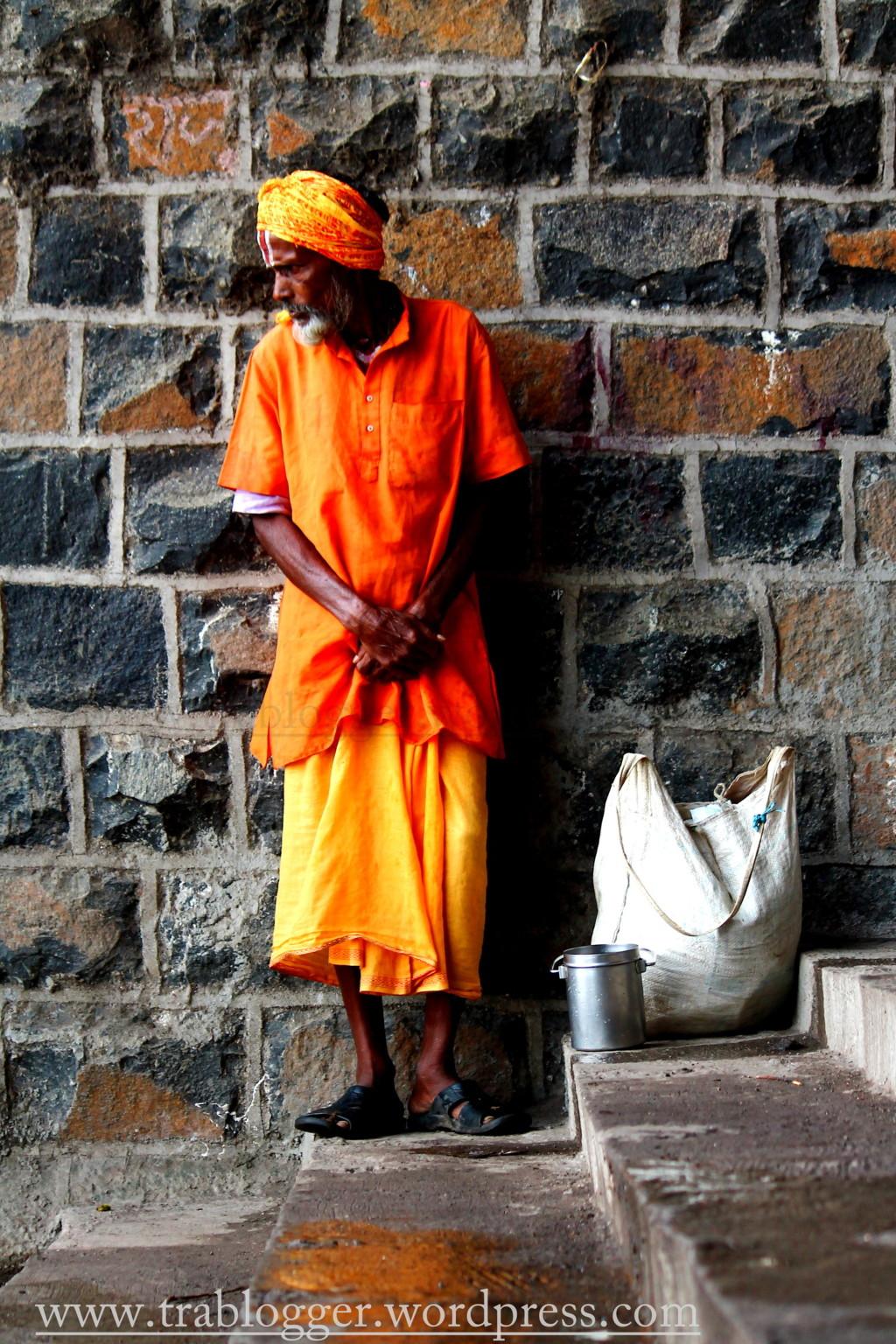 A saffron one