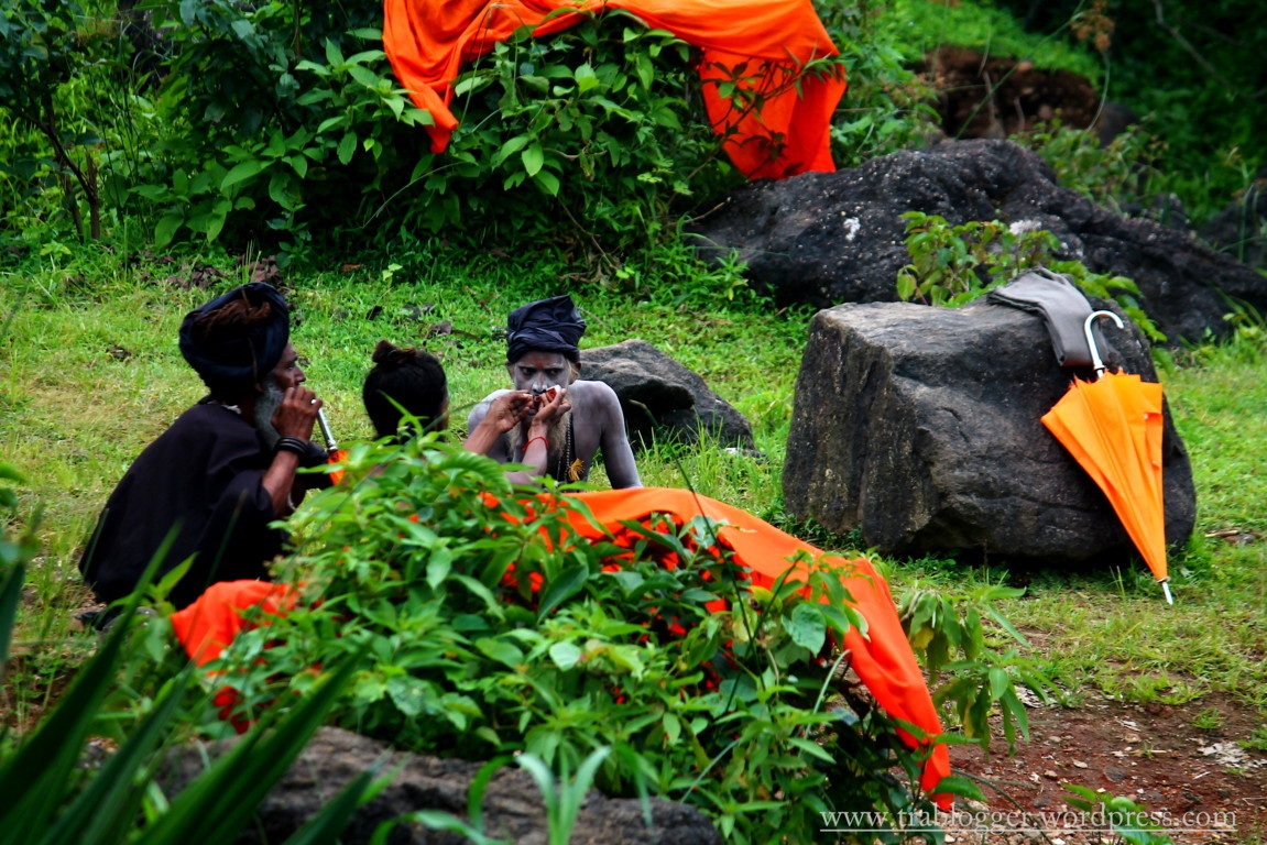 And then there was a sadhu meeting