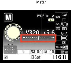Nikon light meter