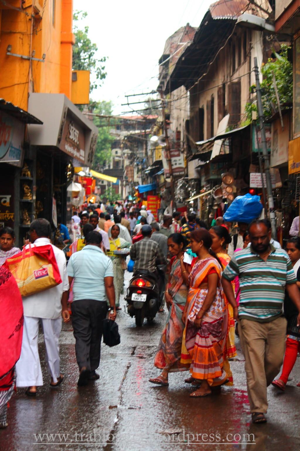 Nashik streets were crowded