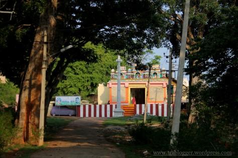 temple at the base of skandagiri