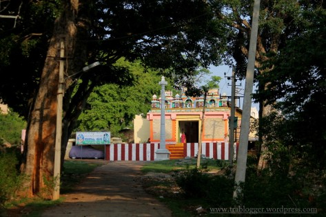 temple at the base of skandagiri